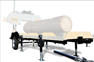 Frontier Sawmills Trailer/Support Jack Package