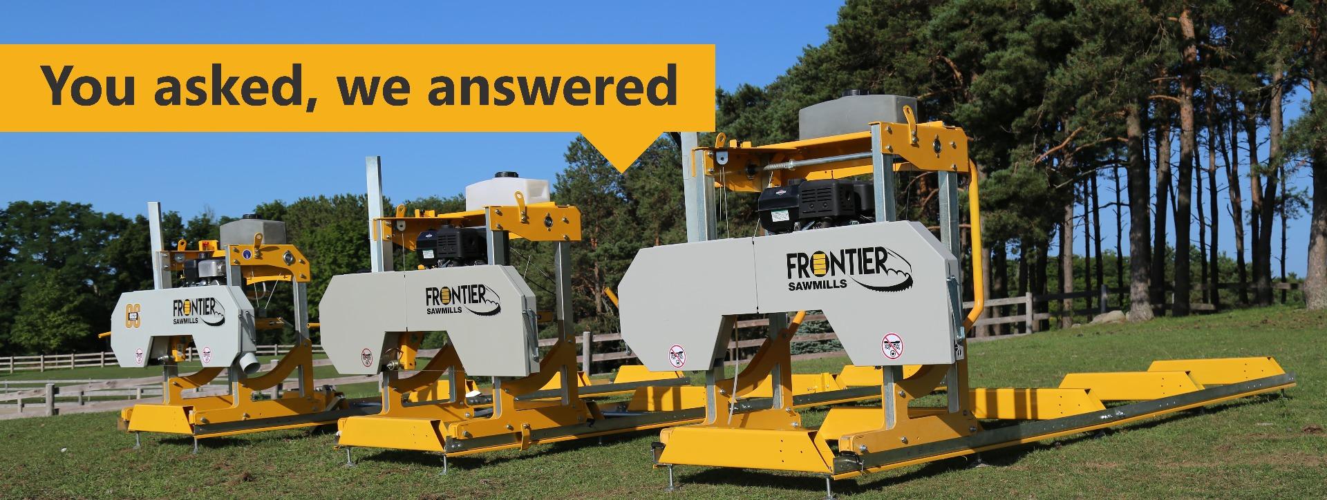 frontier sawmills
